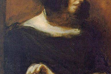 Un peintre, un tableau : Portrait de George Sand par Eugène Delacroix