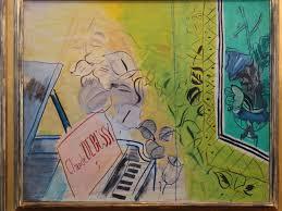 Hommage à Debussy de Raoul Dufy