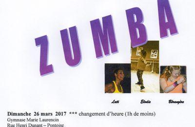 Marathon ZUMBA à Pontoise