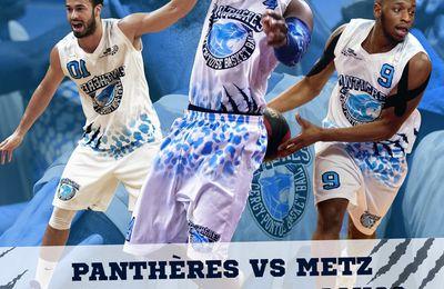 Basket Ball Cergy-Pontoise reçoit Metz