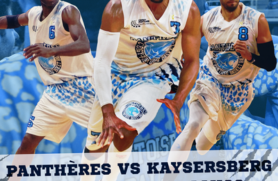 Basket BALL : Cergy-Pontoise contre Kaysesberg