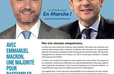 Législatives 2ème circonscription du Val d'Oise : Guillaume VUILLETET