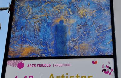 Photos vernissage Exposition Artistes émergents au Carreau de Cergy.