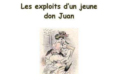 LES EXPLOITS D'UN JEUNE DON JUAN / APOLLINAIRE / LITTERATURE