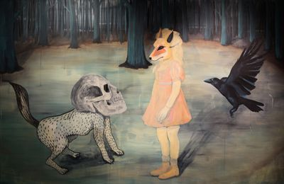 Expo Illustration Contemporaine: « Daydream, Darkness, Disgrace »