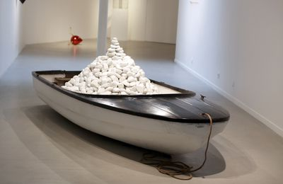 "Expo Sculpture Contemporaine: MYEONGBEOM KIM  ""AMPHIBOLOGY"""