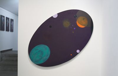 "Expo Peinture Contemporaine: James Hd BROWN ""Oval"""