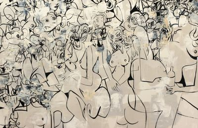 "Expo Peinture Contemporaine: George CONDO  ""Life is Worth Living"""