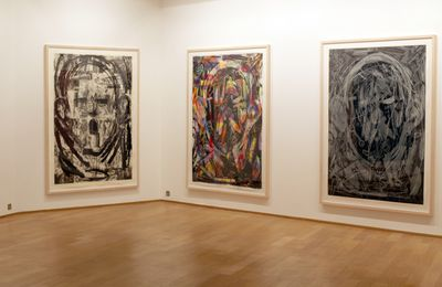 Expo Peinture Contemporaine: Jim DINE «Montrouge Paintings»