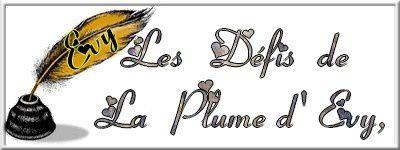 PLUME DE POETE CHEZ EVY - DEFI 135- OFFREZ ET PARTAGEZ