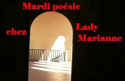 MARDI POESIE CHEZ LADY MARIANNE--- THEME POUR MARDI 21-11