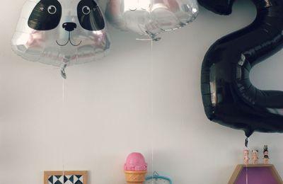 Les deux ans des titous, panda party !