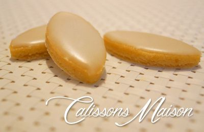 Les calissons maison