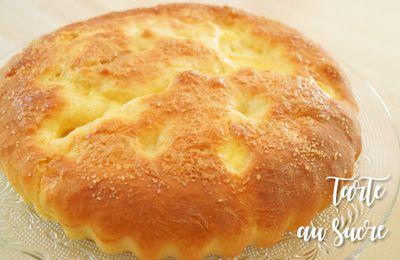 La tarte au sucre (brioche)