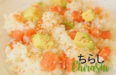 Le riz à sushi et chirashi