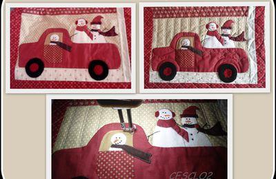 Noël approche, ouvrage #Merry, merry Snowmen