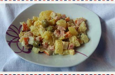 salade composée aux pommes de terre