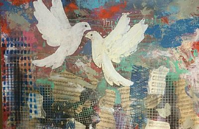 Doves of Peace over Israel
