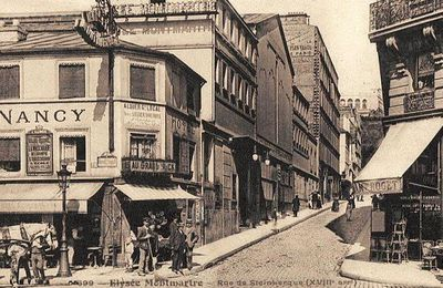 Rue de Steinkerque. Montmartre.