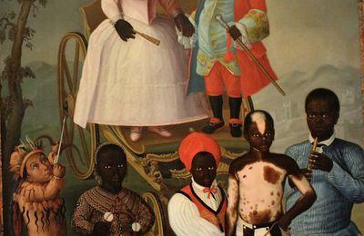 Les nains esclaves de Marie 1ère du Portugal. La mascarade nuptiale. Musée du Nouveau Monde. La Rochelle.