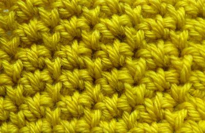 le point d'épis : crochet