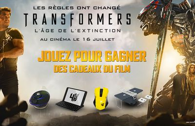 Concours Tranformers 4