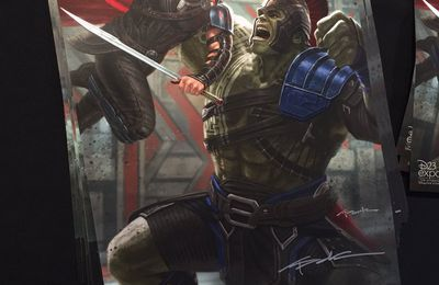 Thor : Ragnarok le poster de la D23