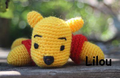 Winnie au crochet modèle tuto gratuit