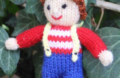 Poupée au tricot Dollytime 5ème