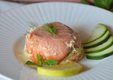 Petites timbales de saumon et courgette {cuisson à l'omnicuiseur vitalité}