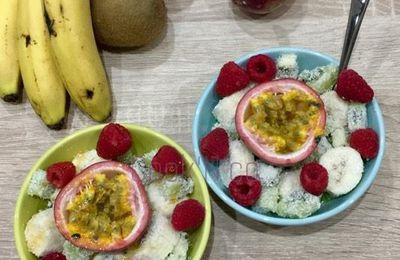 Salade de fruits à la noix de coco (pour 2 personnes)