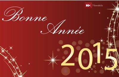 Newstele vous souhaite une Bonne Année 2015
