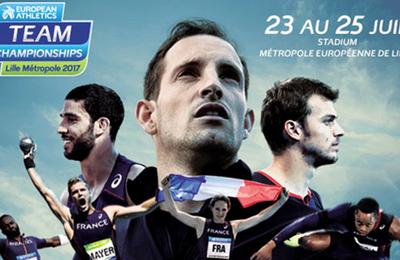 Championnats d'Europe d'athlétisme par équipes du 23 au 25 juin sur France Ô