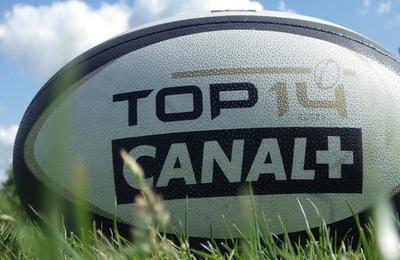 100% du TOP 14 sur Canal+ et Canal+ Sport la saison prochaine