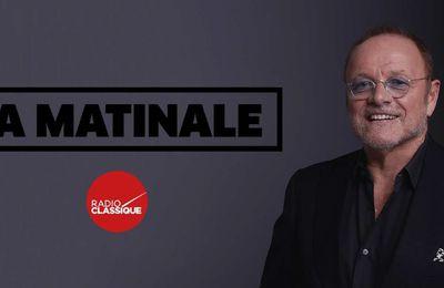 La matinale de Radio Classique de retour le 4 Septembre sur Paris Première