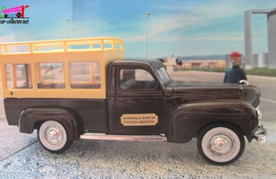 FASCICULE N°166 DODGE MINIBUS PALACE HOTEL 1940 DONNELY RANCH TUCSON ARIZONA SOLIDO 1/43