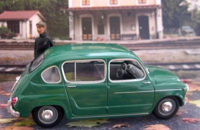 FASCICULE N°133 SEAT 800 1964 SOLIDO 1/43