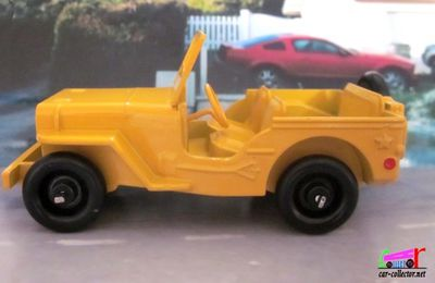 FASCICULE N°85 JEEP VERSION CIVILE DINKY TOYS REEDITION ATLAS 1/43
