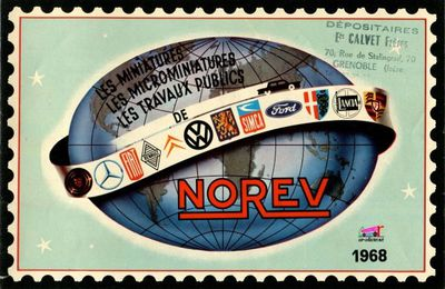CATALOGUE NOREV 1968