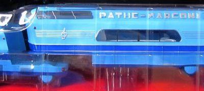 SUPERBUS PANHARD TITAN PATHE MARCONI HORS SERIE 1 VEHICULES PUBLICITAIRES IXO 1/43