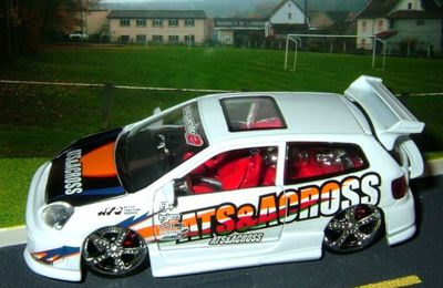 HONDA CIVIC TUNING BURAGO 1/32