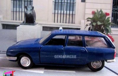 CITROEN GS 1220 PALLAS BREAK GENDARMERIE LUSO TOYS 1/43