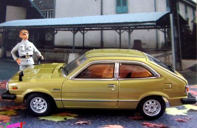 HONDA ACCORD EX5 CVCC HATCHBACK 1976 EBBRO 1/43