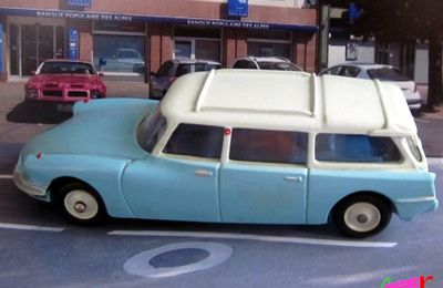 CITROEN DS ID 19 BREAK 1959 CIJ EUROPARC 1/43
