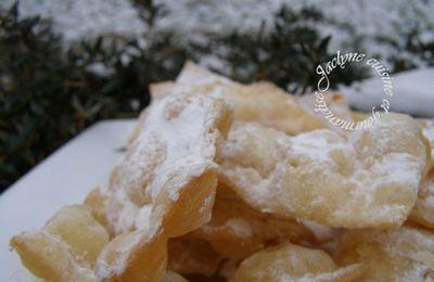 Jour de mardi gras on mange des bugnes :)