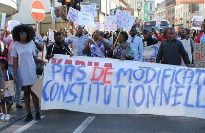 Bruxelles, nouvelle marche pour exiger le départ de J. Kabila du pouvoir