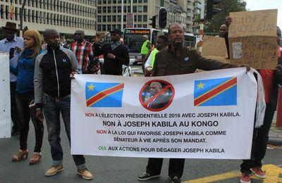 COMMUNIQUE. Mobilisation mondiale pour le départ de Joseph Kabila