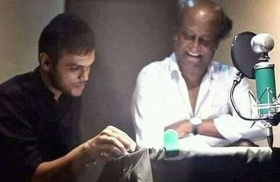 Rajini 2.0 Dubbing Photo !
