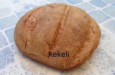 Le pain à la farine de maïs de kekeli