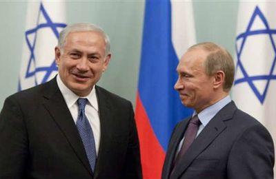 Russie, Israël et Syrie